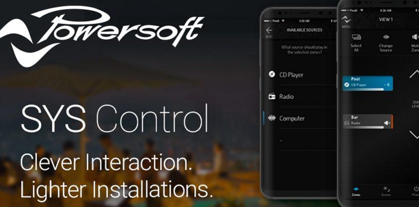 Powersoft apresentou o Sys Control App