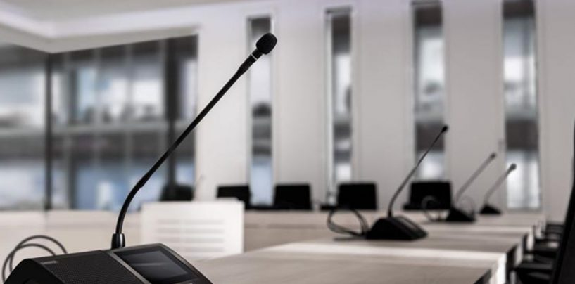 Novas unidades de conferência portáteis da Shure