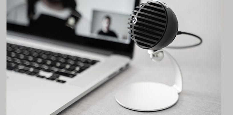 Lançamento: microfone Shure MV5C para home office