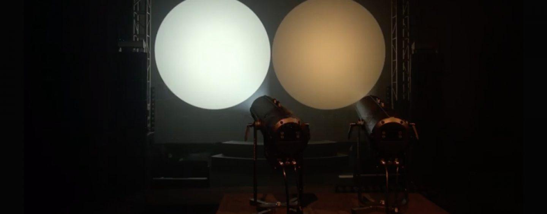 Luzes LED da Strand Lighting para teatro