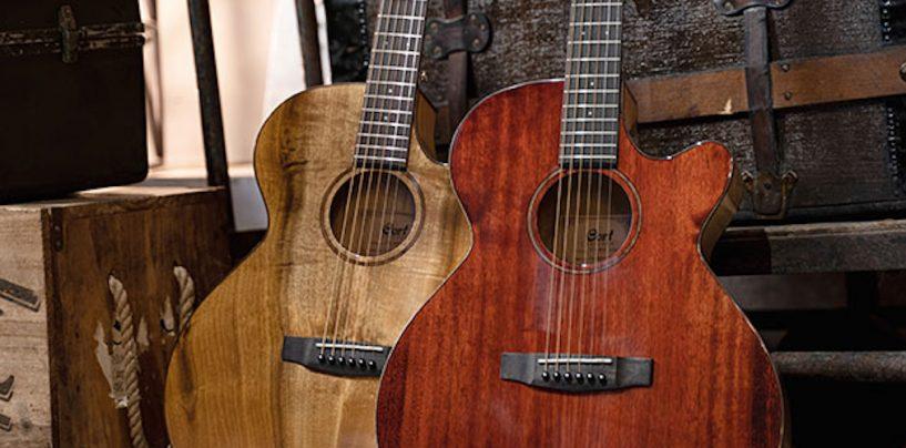 SFX-Myrtlewood é o novo eletroacústico da Cort Guitars