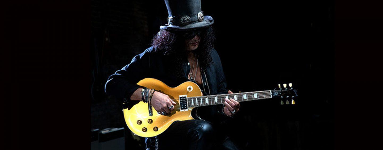 "Gibson introduz Slash ""Victoria"" Les Paul Standard Goldtop"