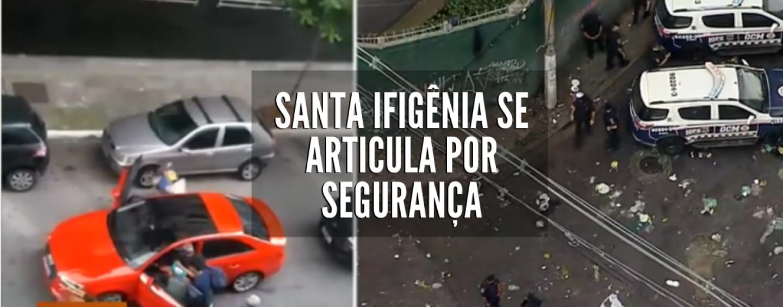 Lojistas da rua Santa Ifigênia exigem segurança para prefeitura
