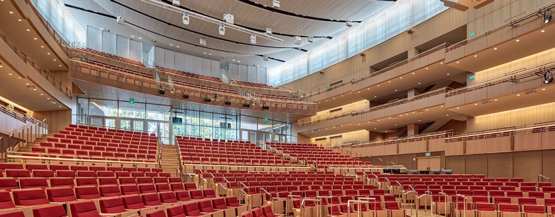 Altman Lighting em Harvard com a Theatre Projects