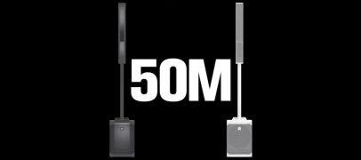 NAMM 2021: Electro-Voice lança sistema de coluna Evolve 50M com novas tecnologias