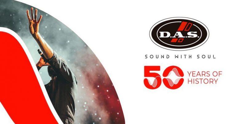 50 anos de DAS Audio