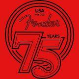 Fender comemora 75º aniversário com novos produtos