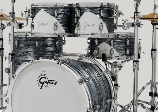 Gretsch apresenta bateria Renown 57 clássica de edição limitada