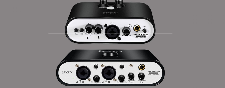 Interfaces de áudio para Lives da iCon Pro Audio