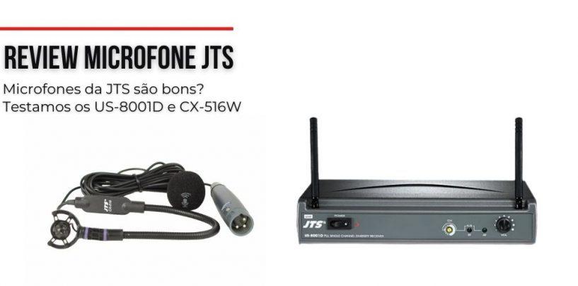 Microfones da JTS são bons? Testamos os US-8001D e CX-516W