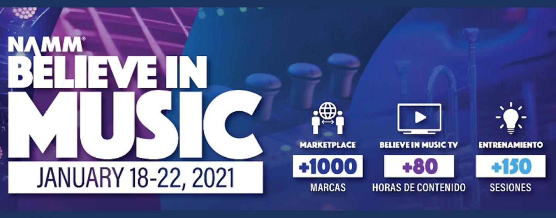 NAMM: Believe in Music Week terá transmissão ao vivo de apresentações de artistas internacionais