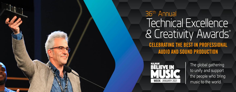 NAMM 2021: Ganhadores dos Prêmios NAMM TEC