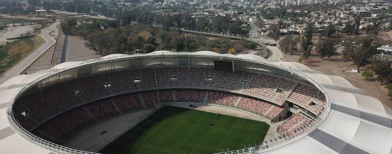 Amplificadores Powersoft instalados em um novo estádio na Argentina