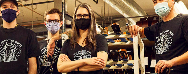 Taylor Guitars agora é 100% propriedade de seus funcionários