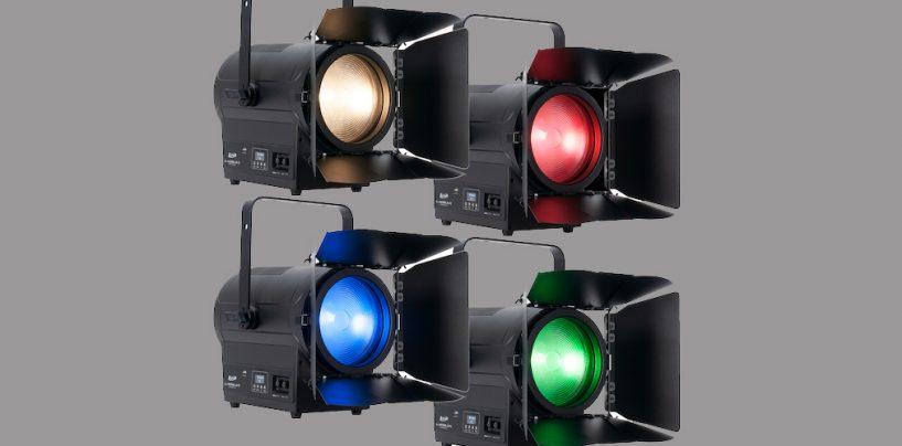 Elation apresenta KL Fresnel 8 FC colorido