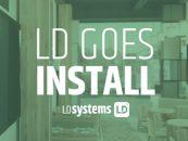 LD Systems expande sua linha para instalações fixas