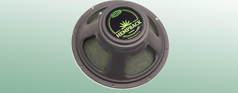 Celestion introduz G12M-50 Hempback Guitar Speaker