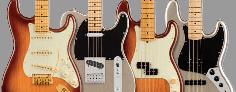 Guitarras do 75º aniversário da Fender
