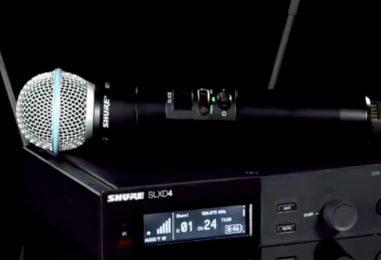 Conecta+: Shure apresenta SLX-D e MV5C