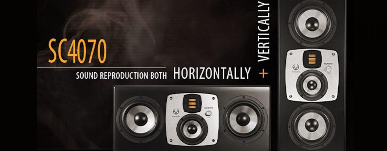 EVE Audio introduz monitor SC4070 que pode virar de posição