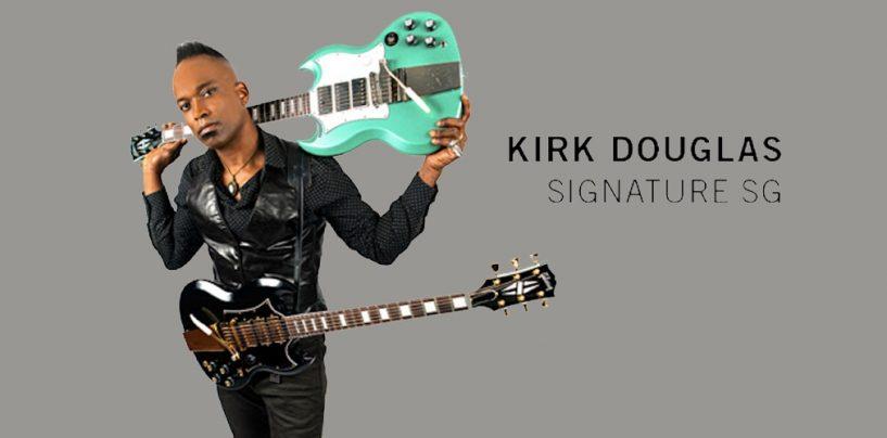 Nova SG da Gibson para Kirk Douglas