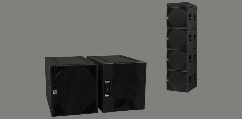 Subwoofers SXCF118 e SXC115 da Martin Audio
