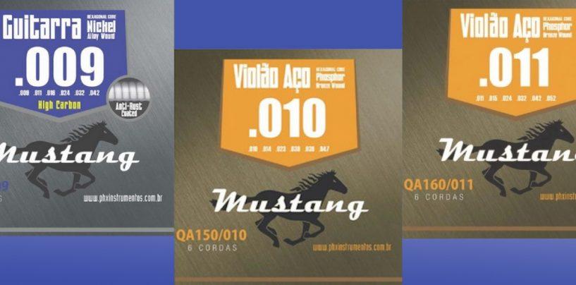 Encordoamentos Mustang, da PH