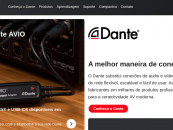 Audinate apresenta site em português