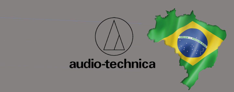 Audio-Technica anuncia filial no Brasil e novo distribuidor