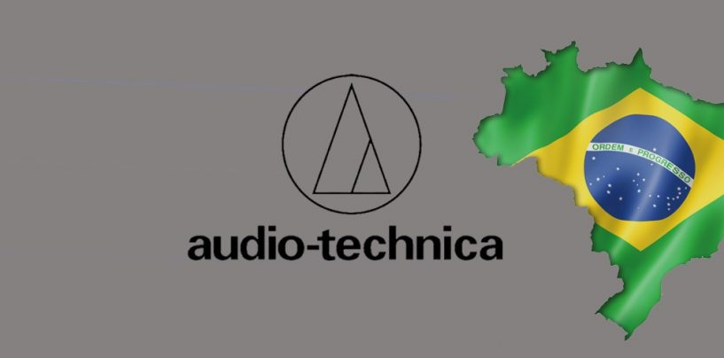 Audio-Technica anuncia filial no Brasil e novo distribuidor