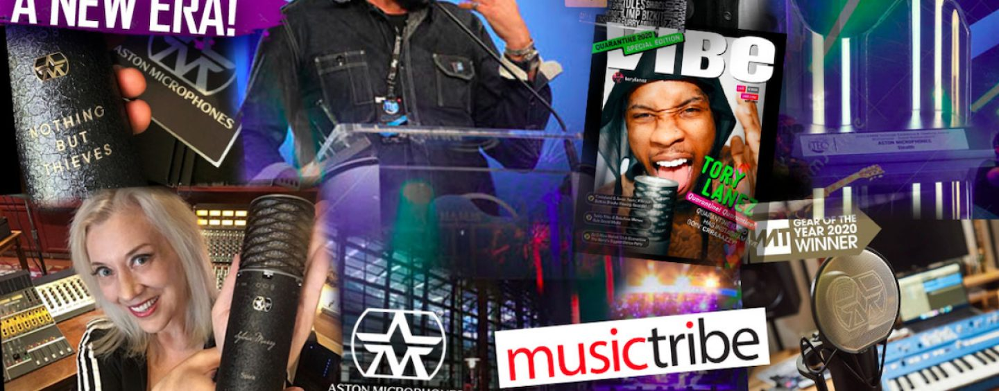 Music Tribe adquire Aston Microphones