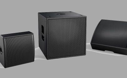 Novos alto-falantes multiuso AMM da Bose Professional