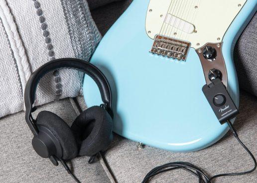 Amplificador pessoal Mustang Micro da Fender