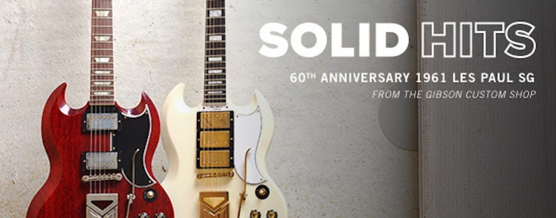 Guitarra Gibson para comemorar 60 anos da Les Paul SG de 1961