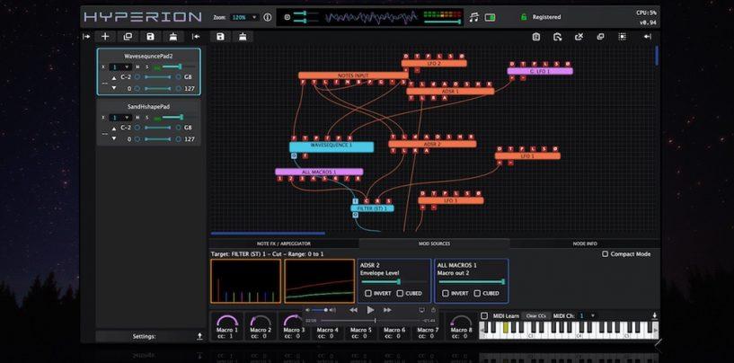Tracktion apresenta plugin Hyperion