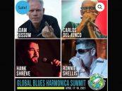 Neste fim de semana será realizado evento mundial de gaita de blues