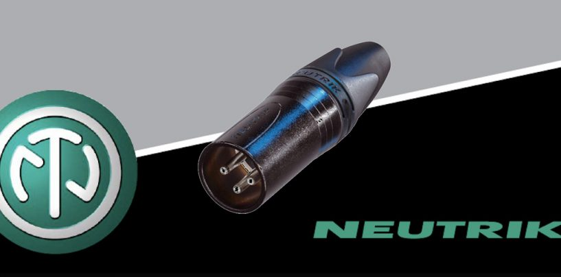 Conector de áudio Neutrik NC3MXX-BAG