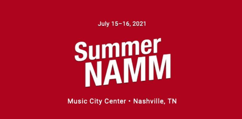 Summer NAMM fará evento presencial em Nashville