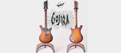 Wild Custom Guitars faz leilão com Gojira e Propeller