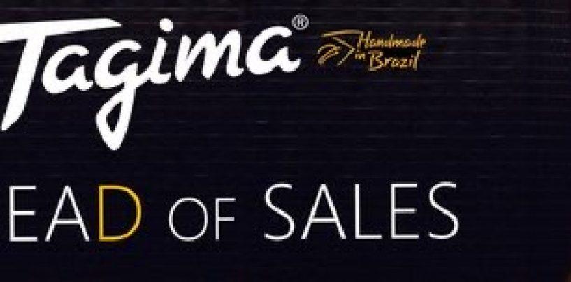Tagima contrata gerente de venda