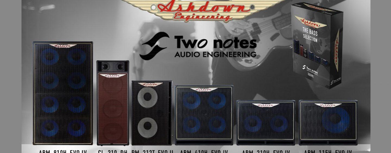 Ashdown lança caixas virtuais com Two Notes Audio Engineering