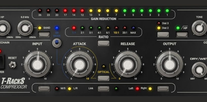 IK Multimedia lança T-RackS Comprexxor