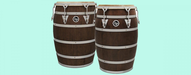 Latin Percussion apresenta tambores Barriles De Bomba