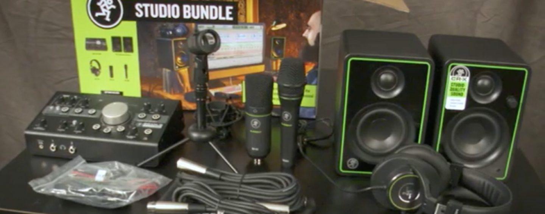 Descubra o pacote completo para gravação em casa da Mackie