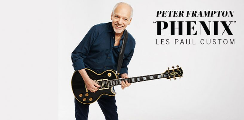 "Nova Peter Frampton ""Phenix"" Les Paul Custom da Gibson"
