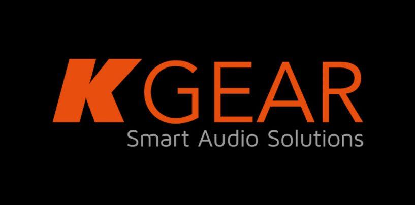 KGEAR é a nova marca de áudio da K-array de preço acessível