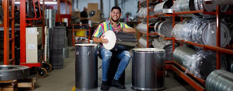 Mafram apresenta seu setup Samba Music