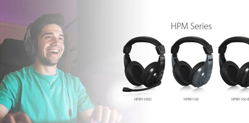 Série HPM é a nova oferta de headphones e headsets USB da Behringer