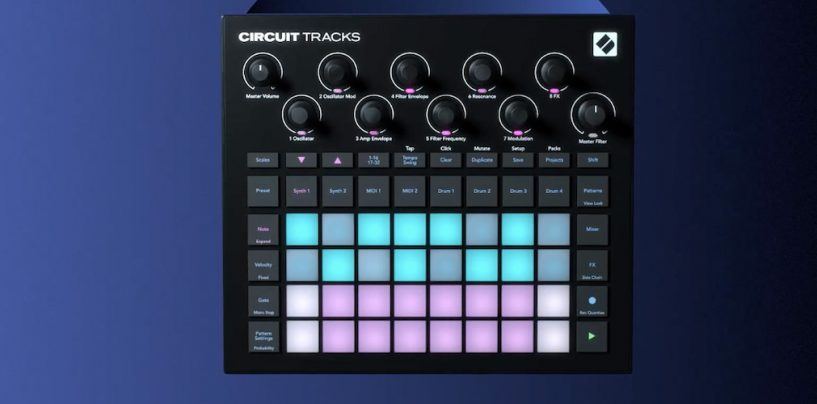 Novation apresenta groovebox Circuit Tracks