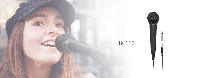 Lançamento Behringer: microfone dinâmico BC110